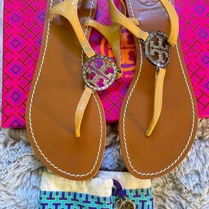 Tory Burch 💯Authentic Thong sandals